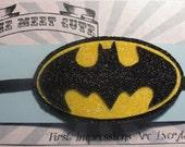 Glitter Batman Headband