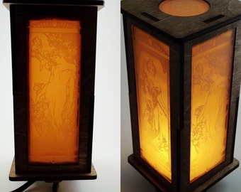 Art Nouveau Accent lamp
