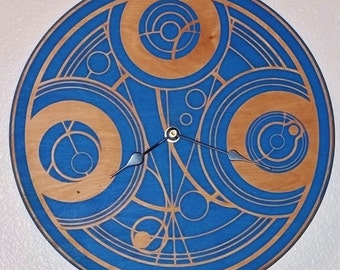 Doctor Who Gallifrey / Time Lord Clock