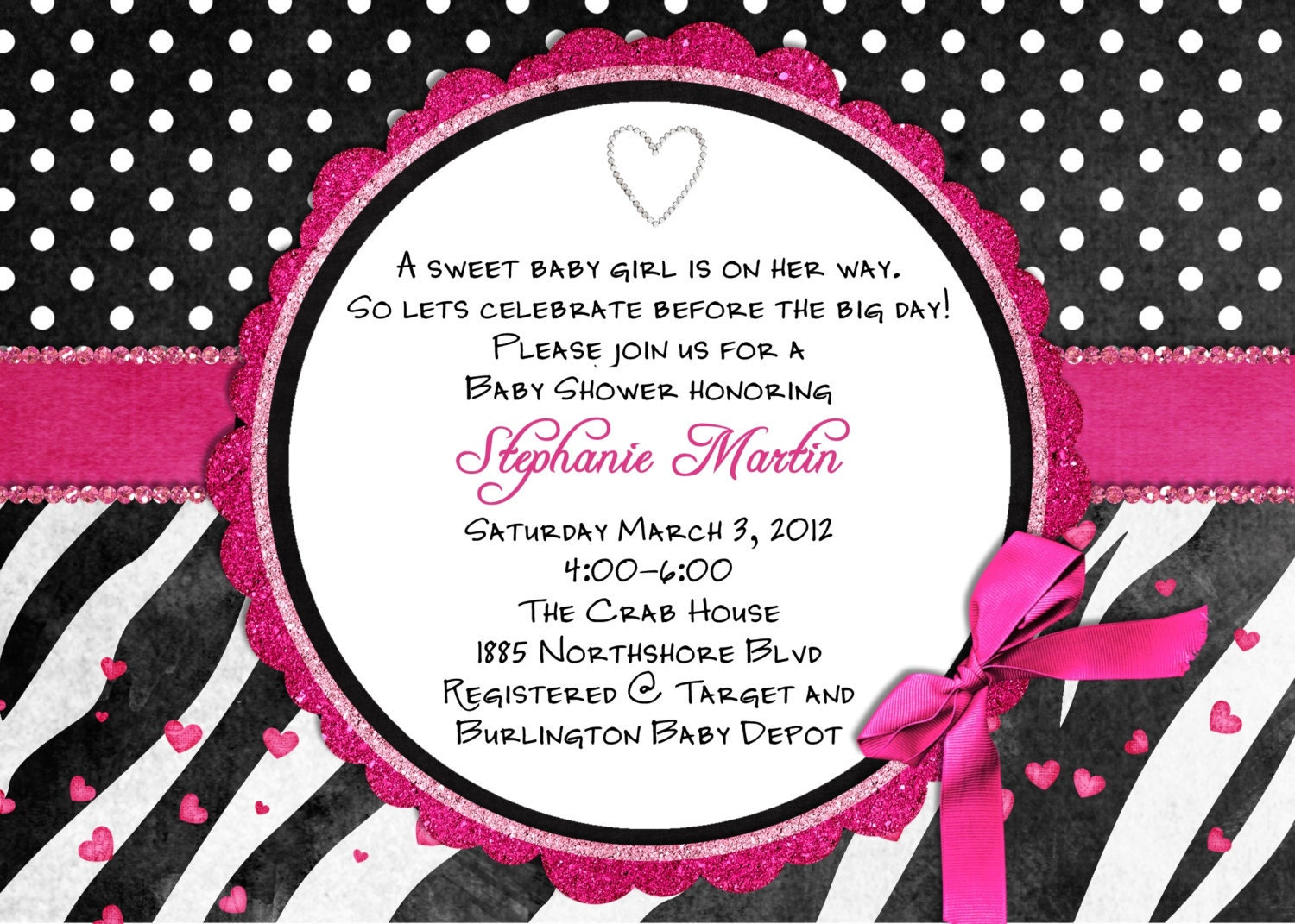 Zebra Baby Shower Invitations is the best ideas you have to choose for invitation example