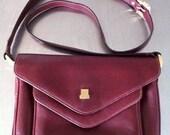 Vintage LANVIN Triple Gusset Envelope Handbag