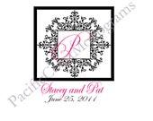 Custom Digital Printable Wedding Monogram