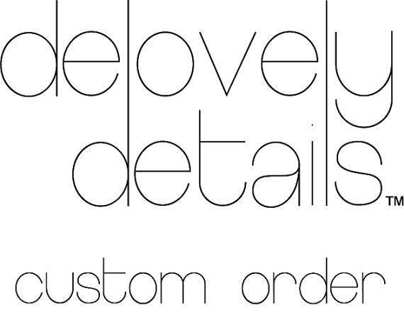 Custom Order for Natale