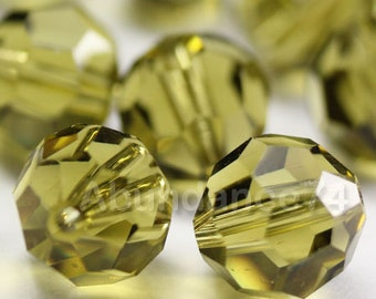 Swarovski Elements Crystal Beads 5000 Round Ball Beads KHAKI - Available in 4mm ,6mm and 8mm