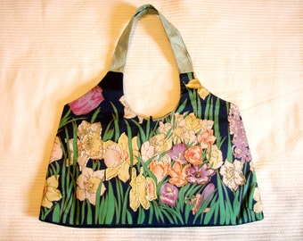 Floral Beaded Hand Bag Purse