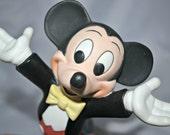 Disney Mickey Mouse Porcelain Figurine