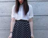 Polka Dot Skirt Size Small