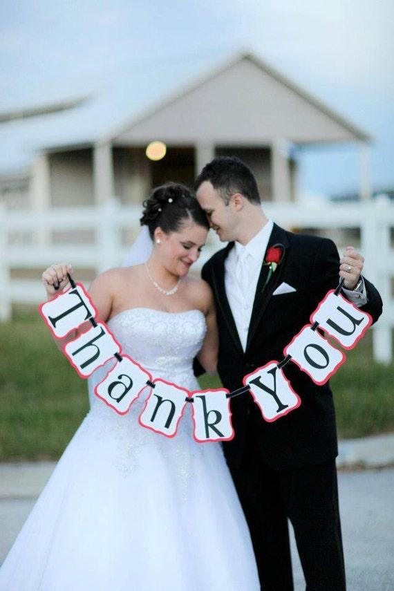 Wedding Banner - Thank You