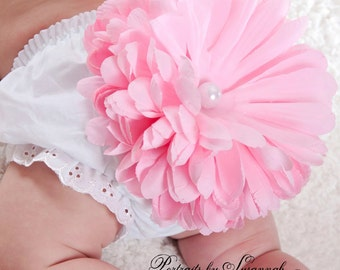 Pink Flower Blossom Bloomers