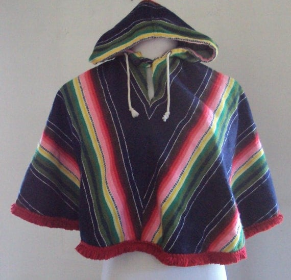 Little Ones//Children's Poncho//Hoodie/Ethnic Pullover