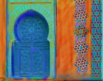 Moroccan Door, Africa,Wall Art,Home Decor,S Seema Z,Exotic,Tribal, Ethnic