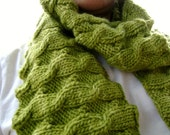 Side Salad Scarf (knitting pattern)