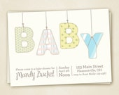 Baby Shower Invitation PRINTABLE