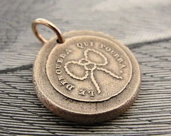 Love Knot  - wax seal charm