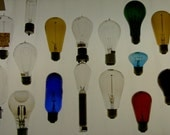 Lighten Up - Early light bulb collection