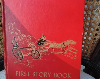 Childrens Hour Clasic Stories First story book - a book to grow on M. Barrows Editor