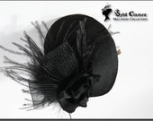 Black with feathers