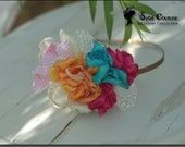 Floral Colorful Headband