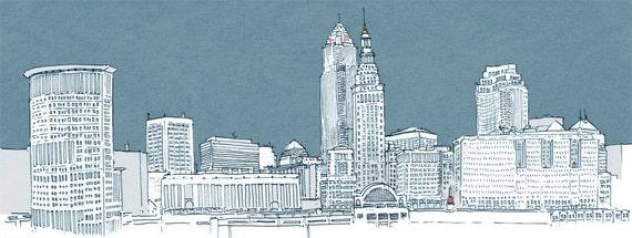 Day 89/100 - Clevelands skyline
