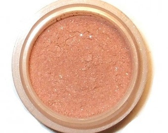 "Orchid Blue Cosmetics Natural Mineral BLUSH ""Oasis""  Peachy Earth-tone"