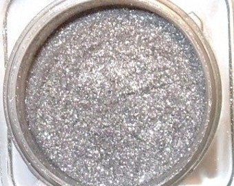 "Mineral Eye Shadow ""SILVER SHIMMER"" Some Serious Silver Shadow 3 Grams or 5 grams"