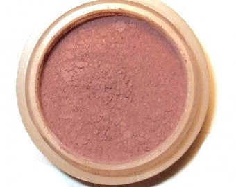 "Natural Mineral BLUSH ""DEEP PLUM"" Orchid Blue Cosmetics"