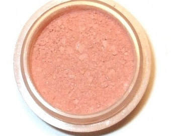 """Natural Mineral BLUSH """"PINK ICE"""" Orchid Blue Cosmetics"""