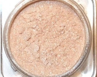 Mineral Eye Shadow CHAMPAGNE  3 Grams or 5 grams- Shimmering Highlight