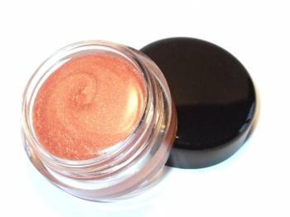 "Orchid Blue Cosmetics Pot style Lip Gloss ""PEACHES & CREAM"" Sheer High Shine Moisturizing."