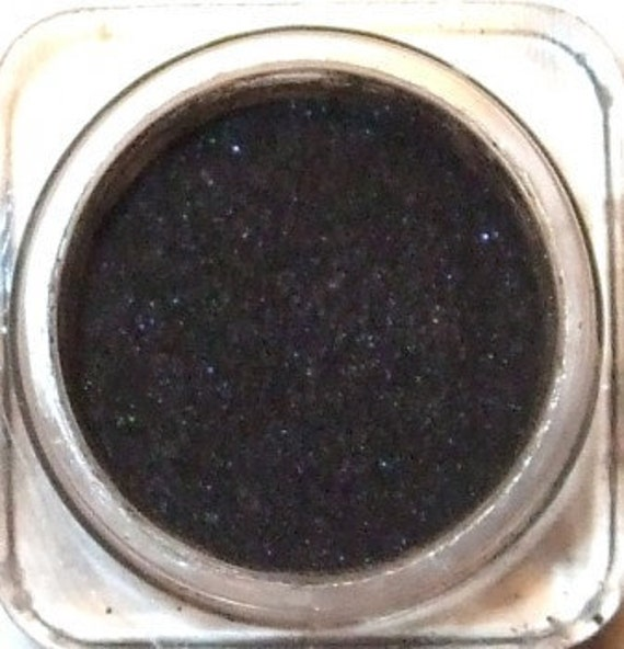 """Mineral Eye Shadow """" COAL in YOUR STOCKING """" Jet Black 5 grams"""