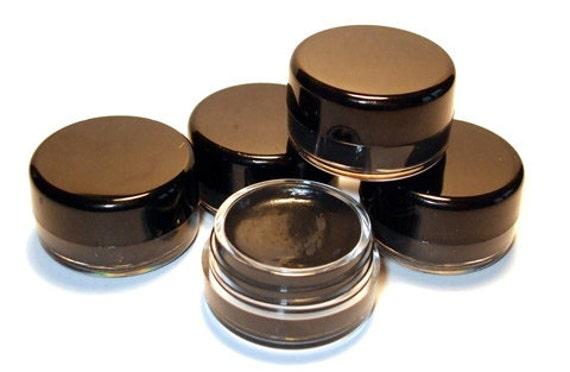 JET BLACK Orchid Blue Cosmetics GEL Eyeliner Water Resistant Eye Liner