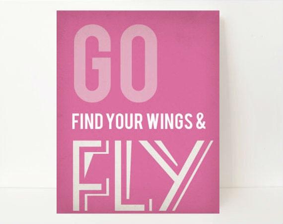 Wall Art Quotes, Teen Girl Room Decor, Inspirational Quote Print, Nursery Art Print, Graduation Gift,Graduation Print, Inspirational Quote,