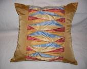 """Pillow  """"Origami  stripes"""""""
