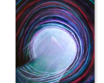 Portal to the Sacred - Original Acrylic Painting - 24 x 30 in