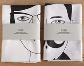 Man and Woman Tea Towels by depeapa - depeapa