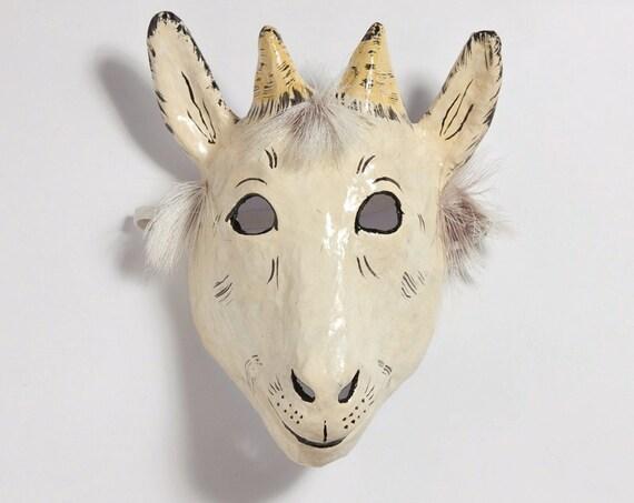 Paper mache kid mask