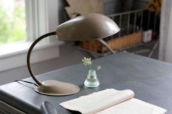 Industrial Desk Light, Cobra Lamp