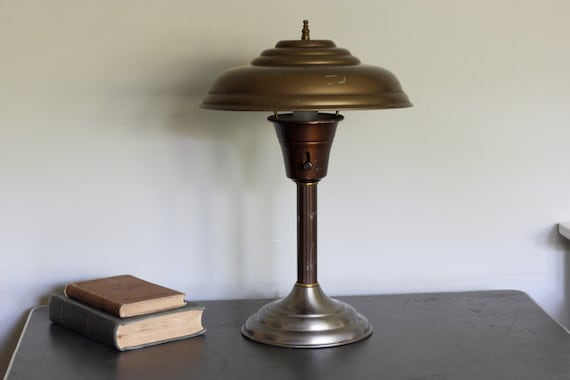 Reserved, Please do not Purchase, Art Deco Desk Lamp