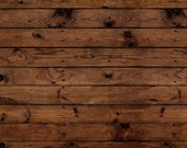 Darkwood Plank Faux Wood Rug Flooring Background or Floor Drop Photo Prop