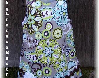 Girls Dress, Infant, toddler, Aline dress Custom..Baby Bloomer..sizes 0-6, 6-12, 12-18, 18-24 mon, 2T, 3T..Bigger sizes AVAILABLE