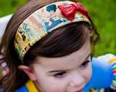 OOAK Wonder Woman Headband - RTS