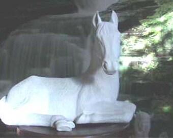 Choice, HUGE, Arabian Horse, OR, Quarter Horse, Large Colt, Lying Horse, Large Horse, Stallion, u-paint, Ceramic bisque, Ready to paint