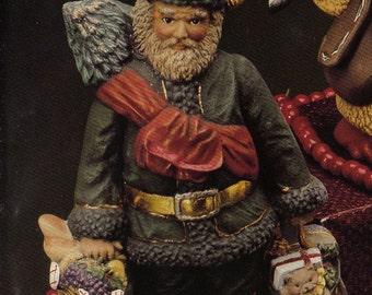 Old World Santa, Italian Santa, Collectible Santa, Kimple santa,Christmas decoration, Ready to paint, Ceramic bisque, u-paint