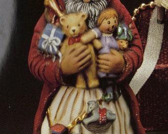 Old World Santa, Toyland Santa, Collectible santa, Kimple santa,Christmas decoration, Vintage Santa, Ready to paint,Ceramic bisque,u-paint