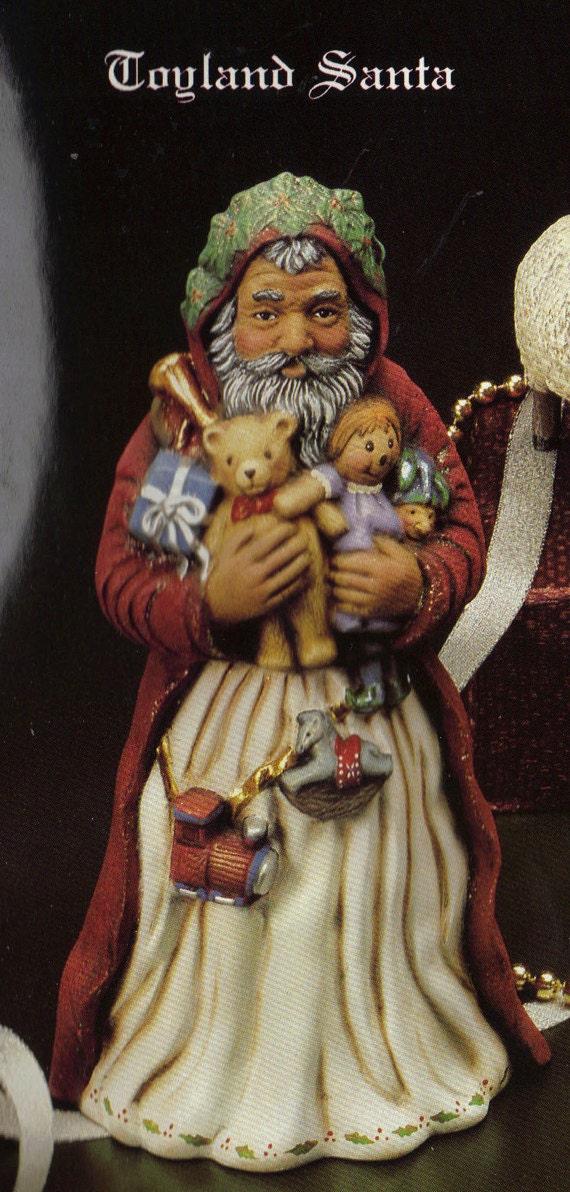 Old World Santa Toyland Santa Collectible Santa Kimple
