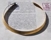 "Brass Neck Collar, 3/4"", Raw Brass"
