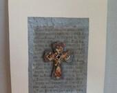 JR336 Wood cross collage