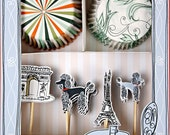 Oh Paris Cupcake Kit