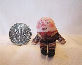 Miniature Humpty Dumpty Doll