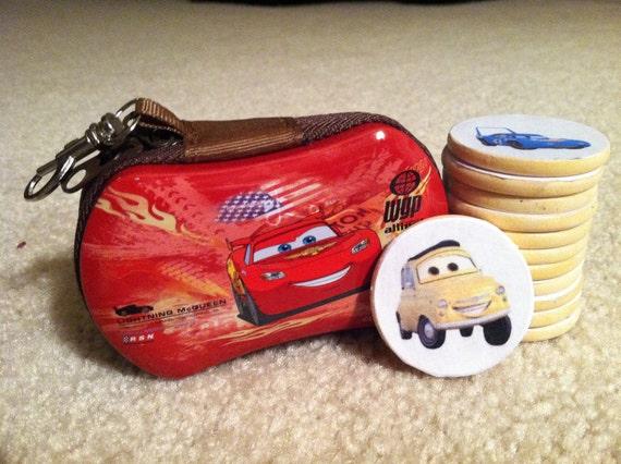 Disney CARS Wooden Memory Travel Game